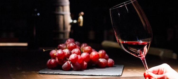Retrogusto del vino