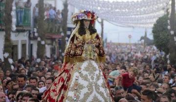 El traslado de la Virgen del Rocío a Almonte