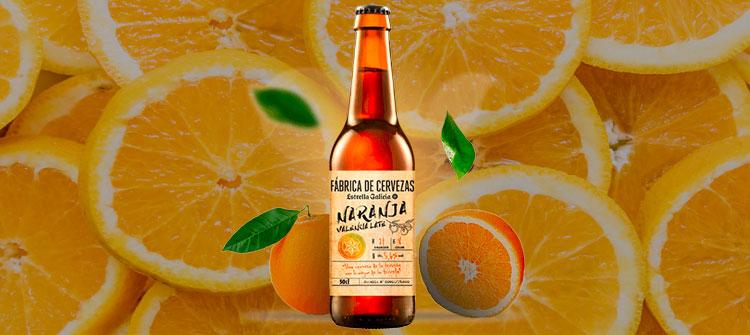 Estrella Galicia rinde homenaje a Valencia con su Cerveza de Naranja