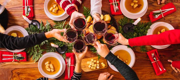 ¿Ya tienes listo el vino para la cena de navidad?
