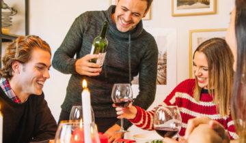 5 tipos de vino para esta navidad