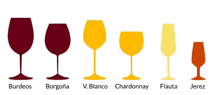 Características de la copa según el tipo de vino (Segunda Parte)