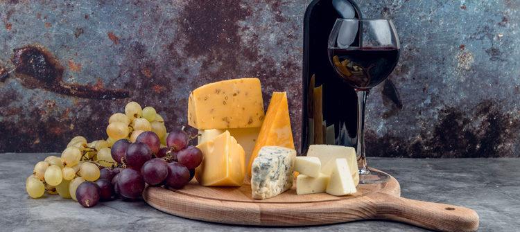 El vino y el queso, la pareja perfecta