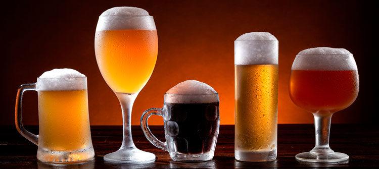 Los diferentes tipos de cerveza según el color