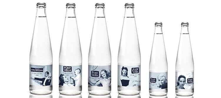 Agua mineral font vella