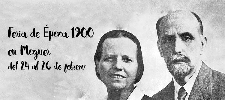 Feria de Época 1900 en Moguer este fin de semana