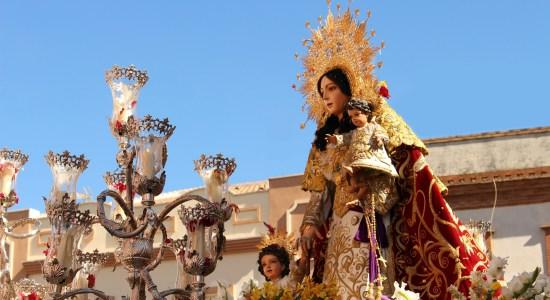 fiesta bonares Santa María Salomé