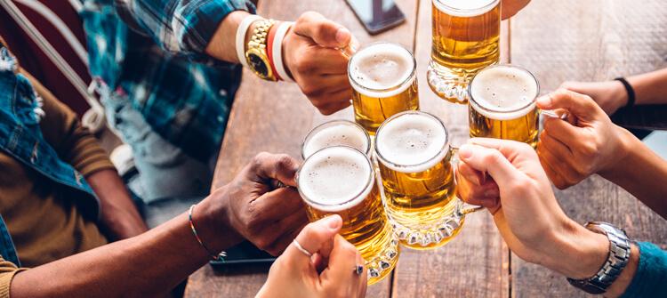 Tipos de vasos para tomar cerveza