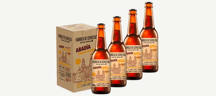 Estrella Galicia presenta su nueva receta: Cerveza Artesanal Abadía Sobrado Dos Monxes